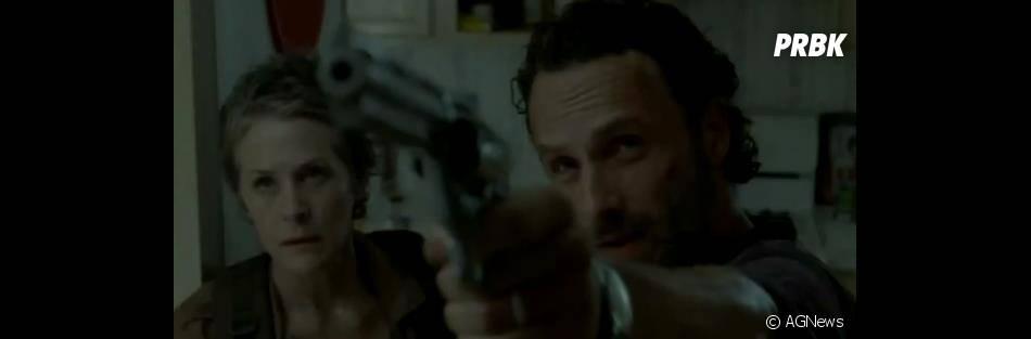 The Walking Dead saison 4 : Rick face aux zombies