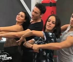 Danse avec les stars 4 : Alizée danse un foxtrott en quatuor avec Gégoire Lyonnet, Maxime Dereymez et Candice Pascal