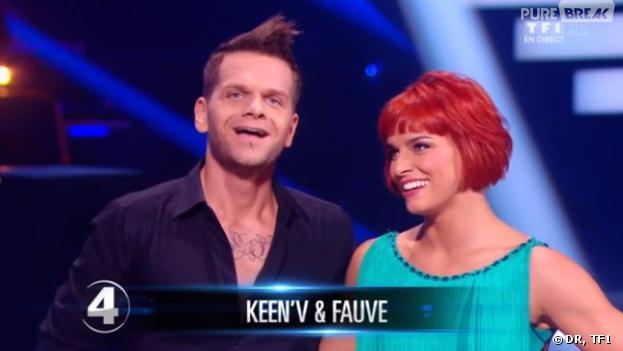 Danse avec les stars 4 : Keen'V et Fauve Hautot en demi-finale