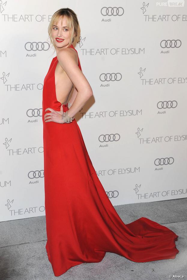 Fifty Shades of Grey : Dakota Johnson s'est mise au sport pour son rôle d'Anastasia