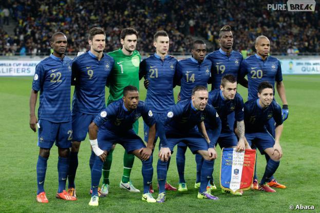 L'équipe de France soutenue par les stars