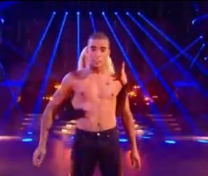 Danse avec les stars 4 : Brahim en poupée contemporaine désarticulée