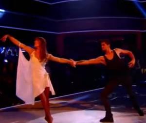 Danse avec les stars 4 : Laetitia et Christophe Licata dansent un american smooth sur Grégory Lemarchal