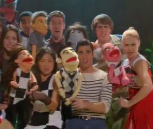 Glee saison 5, épisode 7 : la bande annonce en mode Muppet Show