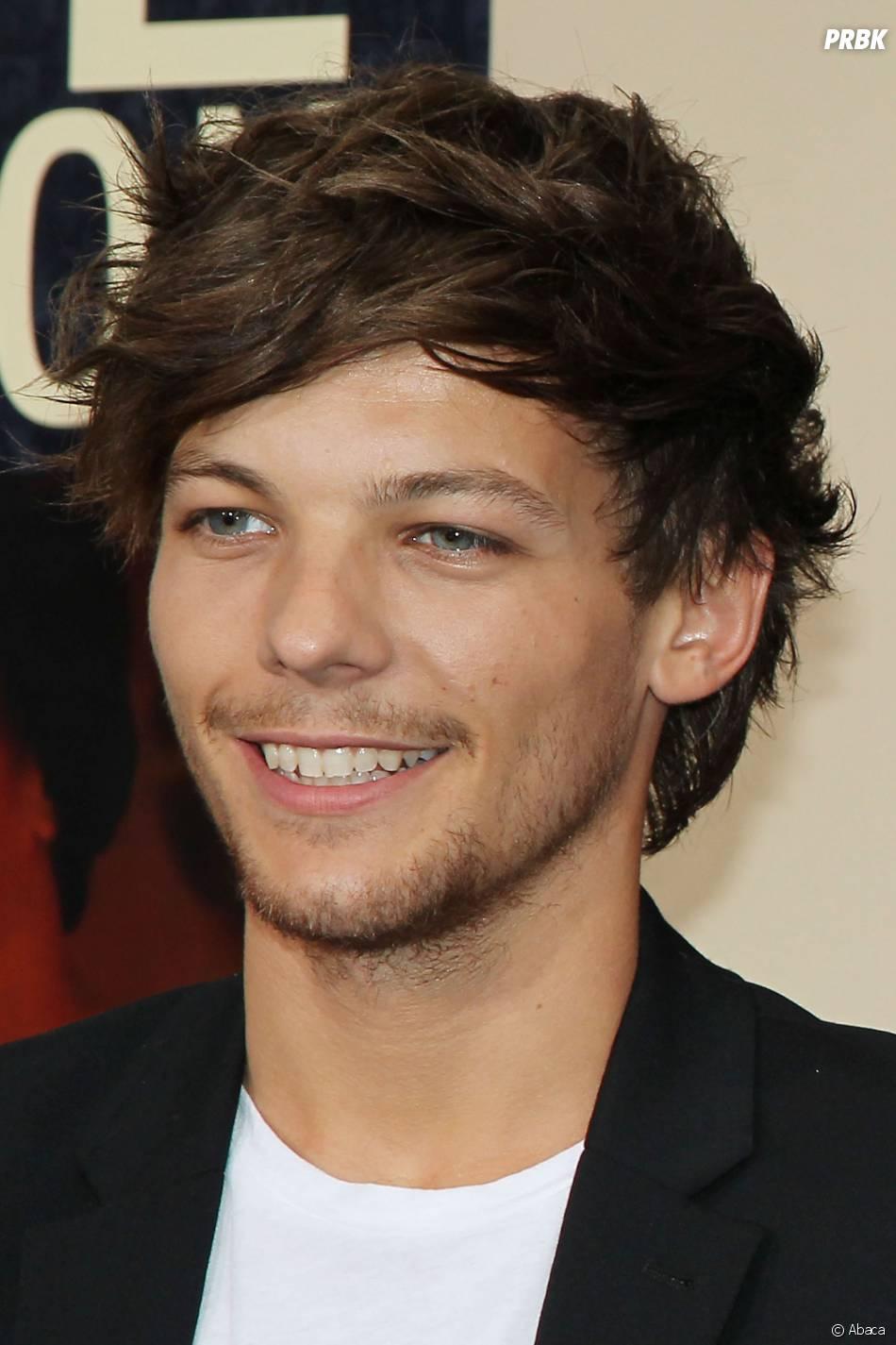 Louis Tomlinson à l'avant-première du film des One Direction This is Us à New York le 26 août 2013