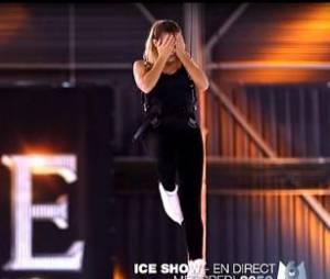 Ice Show : Clara Morgane s'envoie en l'air sur la glace
