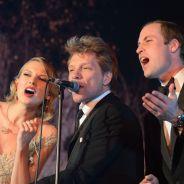 Taylor Swift donne de la voix avec le Prince William et Bon Jovi