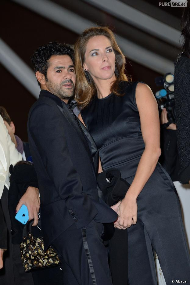 Jamel Debbouze et Mélissa Theuriau complices au 13ème Festival du Film de Marrakech, ce dimanche 1er décembre 2013
