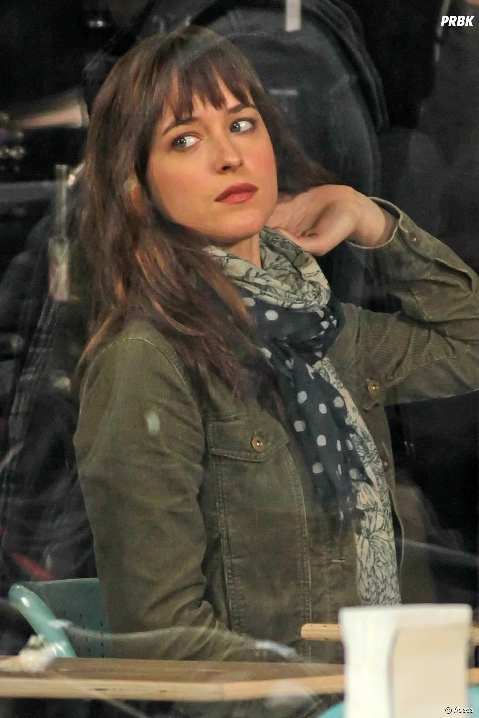 Fifty Shades Of Grey : Dakota Johnson sur le tournage