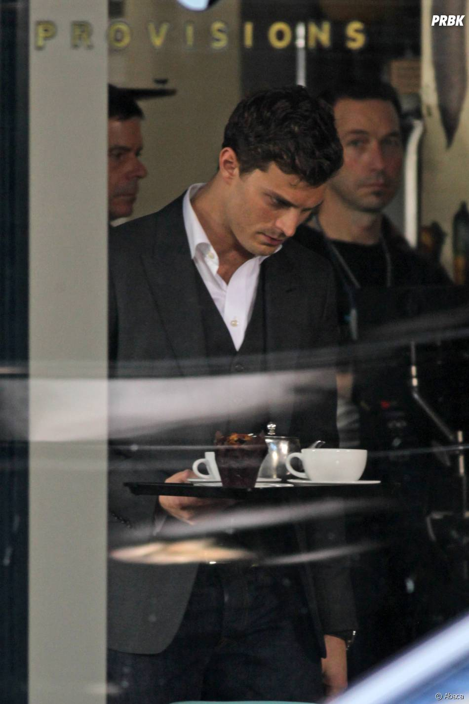 Fifty Shades Of Grey : Jamie Dornan aka Christian Grey sur le tournage