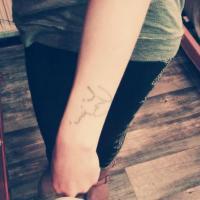 Justin Bieber : une fan se fait le tatouage de l'autographe... de son sosie