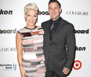Pink et son mari à une soirée organisée par Billboard le 10 décembre 2013