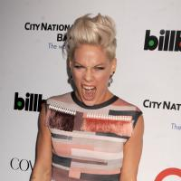 Pink : femme de l'année pour Billboard, elle dédie son prix à son mari