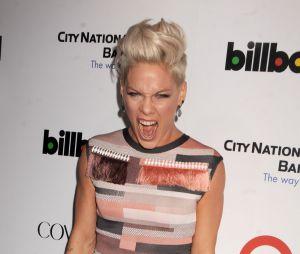 Pink : élue femme de l'année par Billboard, elle dédie son prix à son mari