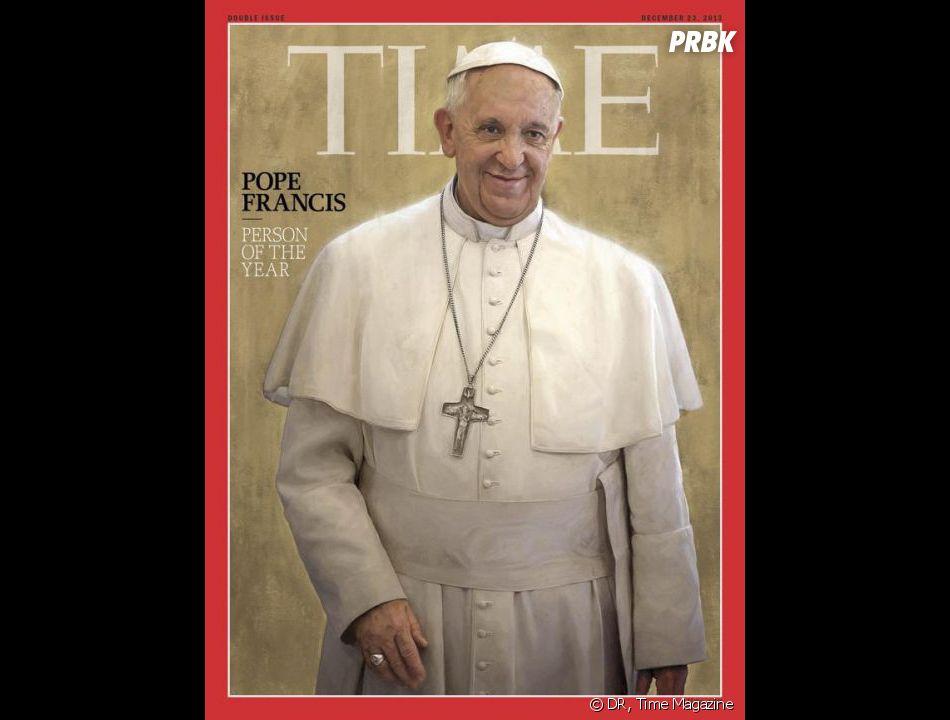 """Pape François élu """"Personnalité de l'année"""" par le Time, le 11 décembre 2013"""