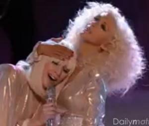 Christina Aguilera et Lady Gaga : duo sur le plateau de The Voice US