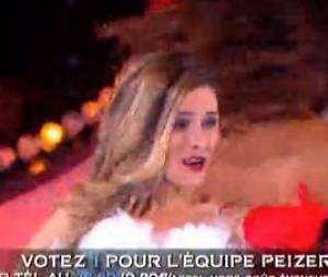 Ice Show : Clara en mère Noël lors de la finale
