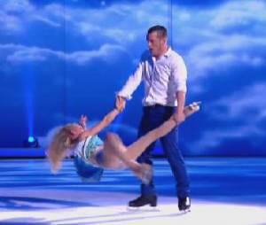 Ice Show : Norbert Tarayre et son grand porté lors de sa deuxième prestation