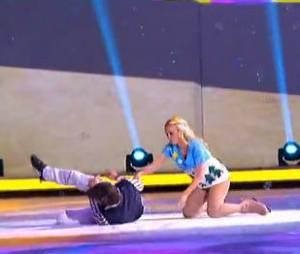 Ice Show : Florent Torres et ses deux chutes