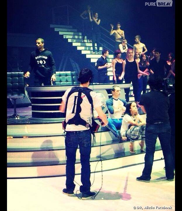 Danse avec les stars 4 : Alizée et Grégoire Lyonnet lors des répétitions pour la tournée