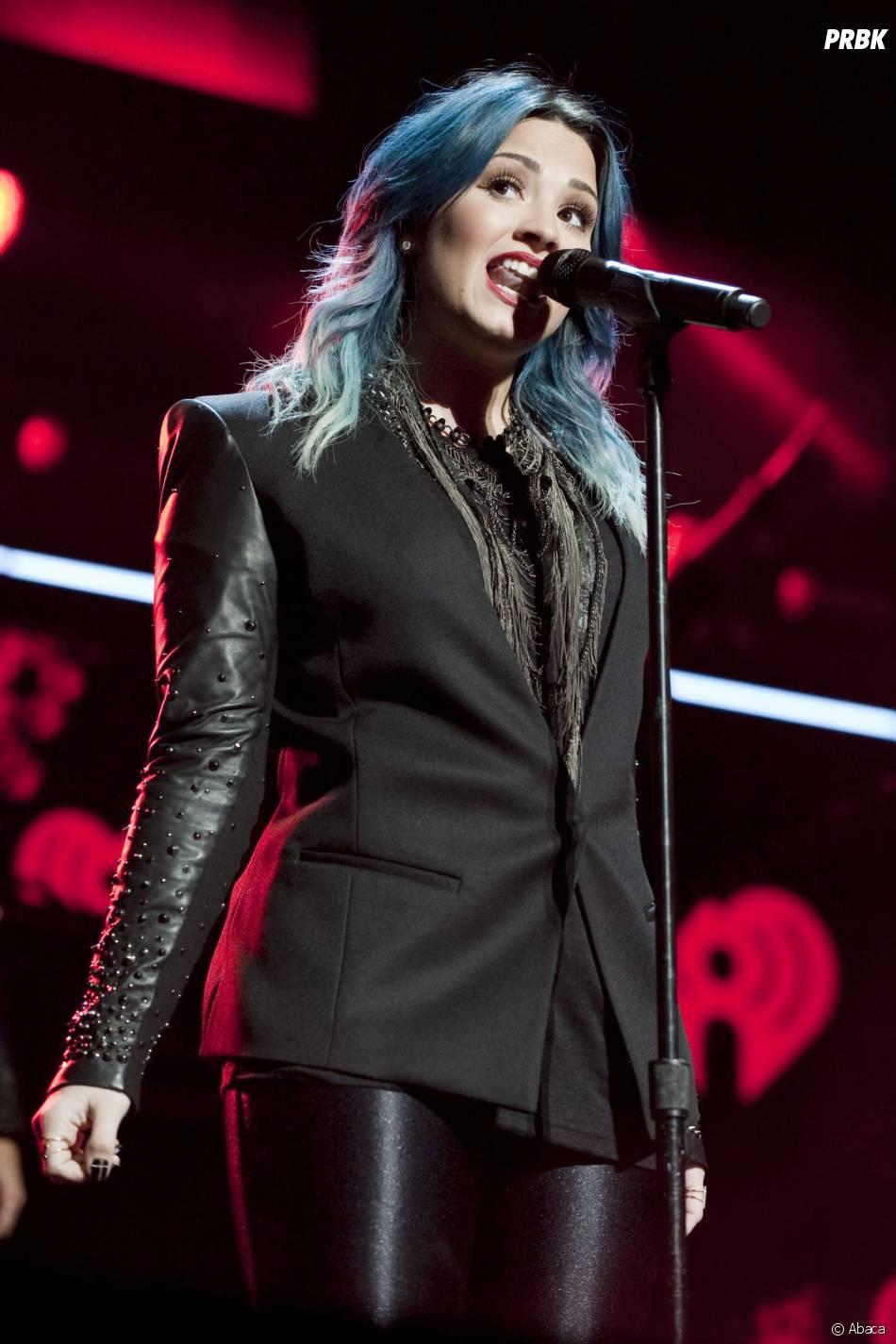 Demi Lovato au Jingle Ball de Miami le 21 décembre 2013