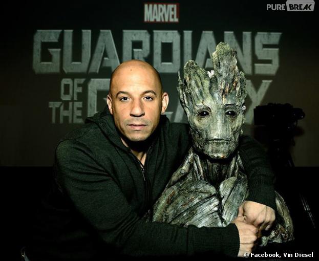 Les Gardiens de la Galaxie : Vin Diesel rejoint le casting du film Marvel