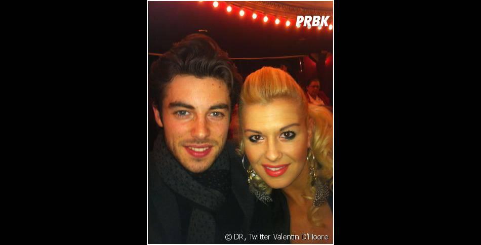Katrina Patchett et Valentin : photo de couple sur Twitter