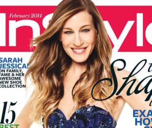 Sarah Jessica Parker en Une du magazine In Style, édition février 2014