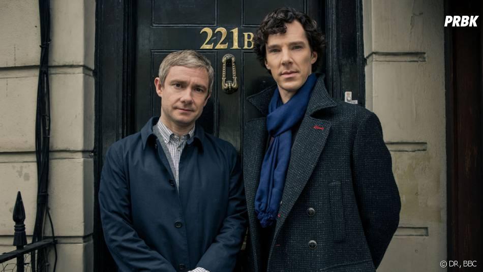Sherlock saison 3 : Martin Freeman et Benedict Cumberbatch dans l'épisode 1