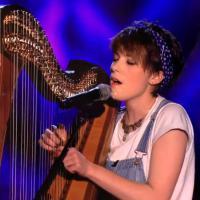 Get Lucky à la harpe : l'incroyable performance d'une anglaise à The Voice