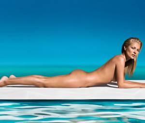 Kate Moss : nue pour les autobronzants St Tropez à l'été 2013