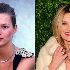Kate Moss avant/après : aussi belle à 40 ans qu'à 20 ans ?
