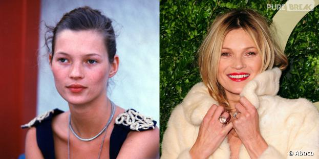 Kate Moss fête ses 40 ans : la brindille a débuté sa carrière en 1990