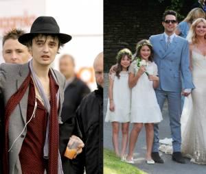 Kate Moss : couple grunge avec Pete Doherty en 2005, couple chic lors de son mariage avec Jamie Hince en 2011