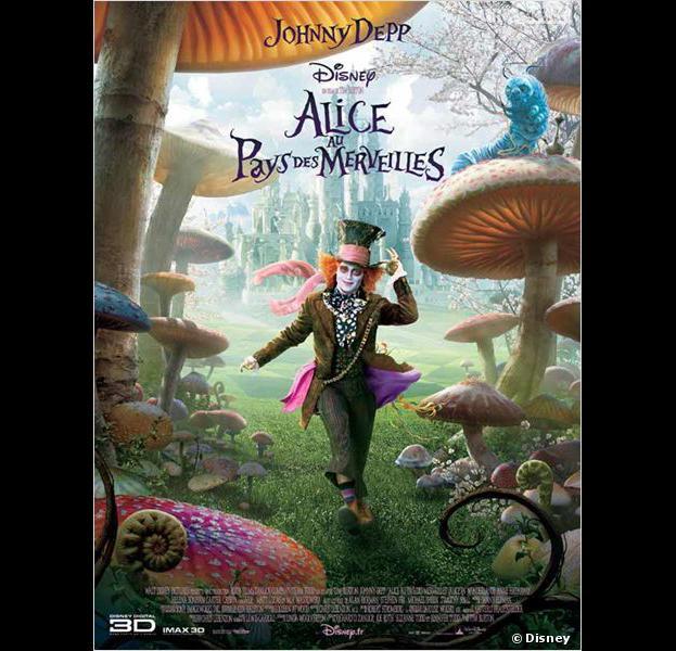 Alice au pays des merveilles 2 johnny depp et mia wasikowska de retour en 2 - Objet alice au pays des merveilles ...