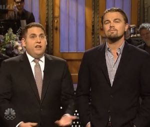 Leonardo DiCaprio s'est invité durant le monologue de Jonah Hill dans le Saturday Night Live