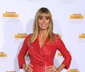 Heidi Klum à la soirée Sports Illustrated Swimsuit, le 14 janvier à Los Angeles