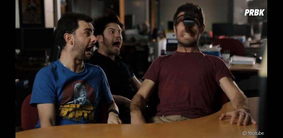 SURICATE (Golden Moustache) : Julfou et Raphaël Descraques imaginent ce à quoi pourrait ressembler la discussion de deux Siri