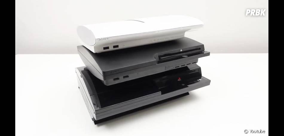 La PS3 et ses différents modèles : les petites soeurs de la PS4