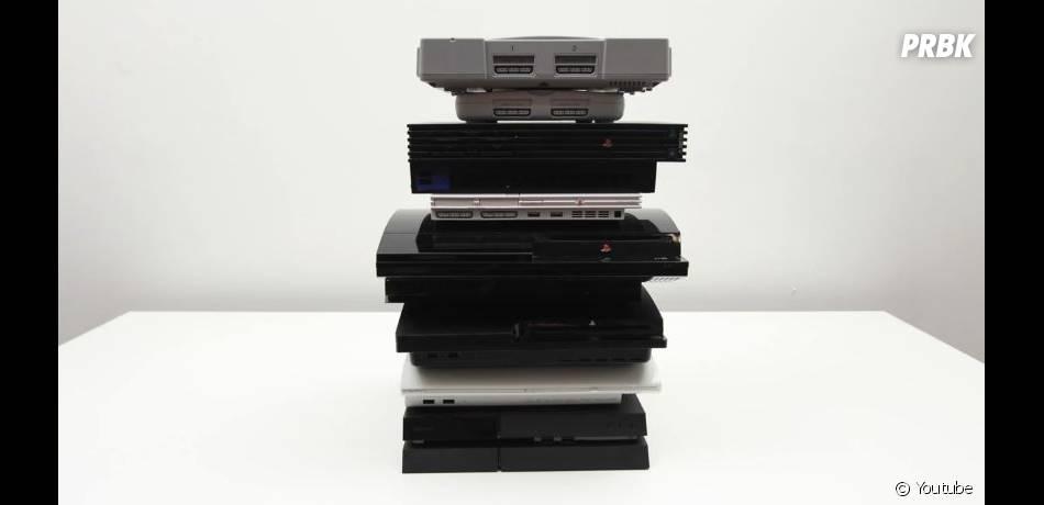 Toutes les PlayStation sorties à ce jour