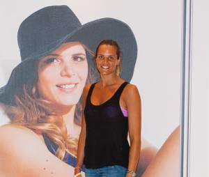 Laure Manaudou : bronzée pour la présentation de marque de maillotsà Paris le samedi 6 juillet 2013