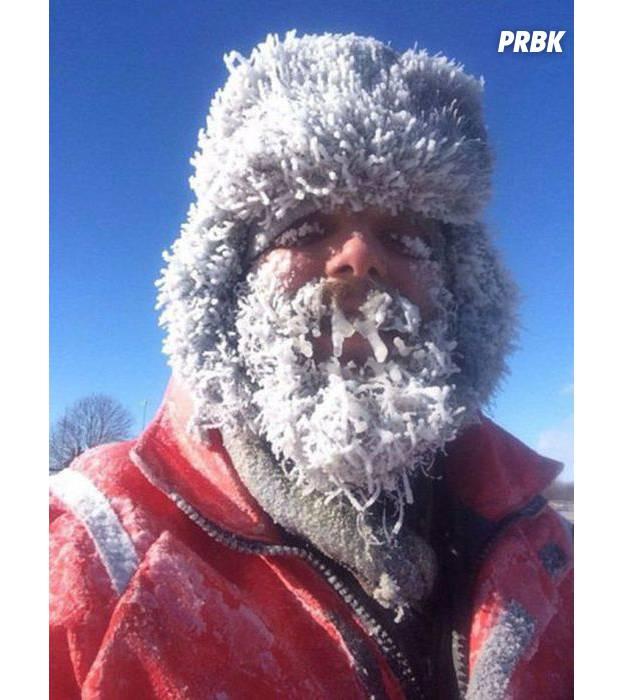 """La photo la plus : """"Je crois que j'ai attrapé un rhume."""""""