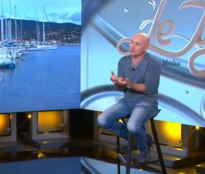 Vincent Lagaf : le présentateur du Juste Prix accepte une interview avec Daphné Bürki, le 8 janvier 2014