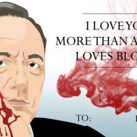 """[INSOLITE] Des Je t'aime façon """"House of Cards"""" pour la Saint-Valentin"""