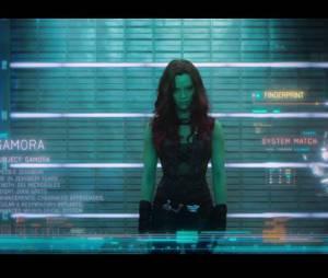Gardiens de la Galaxie : Zoe Saldana incarne Gamora