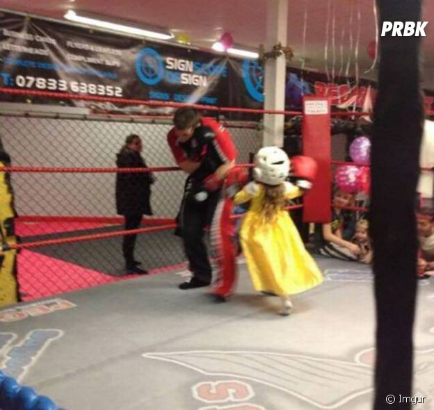 Princesse sur le ring