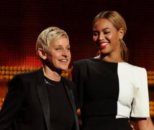 Ellen DeGeneres et Beyoncé aux Grammy Awards 2013