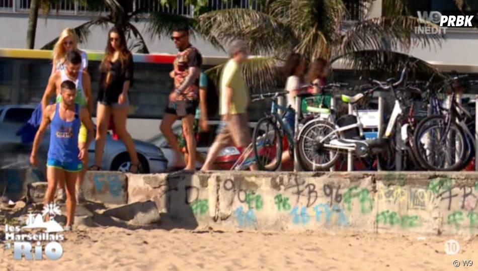 Les Marseillais à Rio : première plage pour les candidats