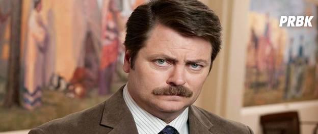 Ron Swanson (Parks and Recreation) – La moustache la plus normale