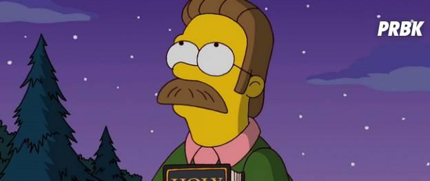 Flanders (Simpson) – La moustache la plus tête à claques